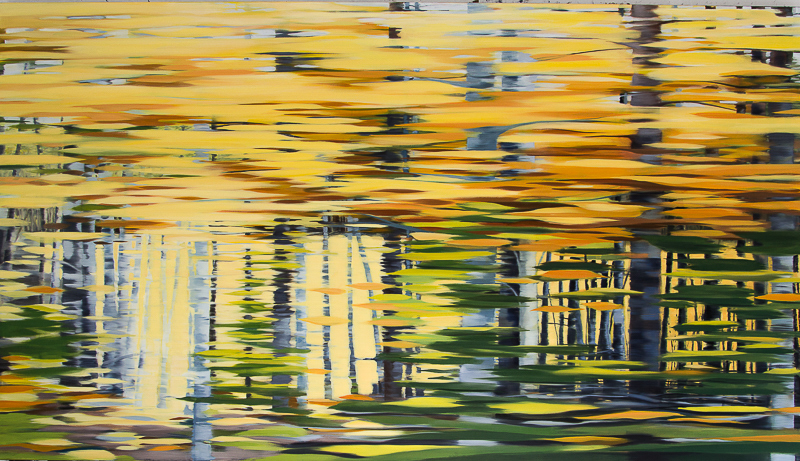 Autumn Drive 3 | Northwest Territories | oil painting